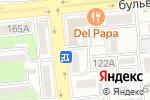 Схема проезда до компании Окна-Маркет в Алматы