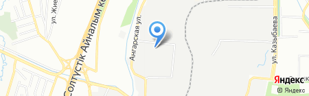 Кнауф Гипс Капчагай на карте Алматы
