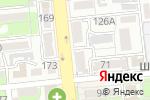 Схема проезда до компании Bellini в Алматы