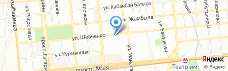 Ducat на карте Алматы