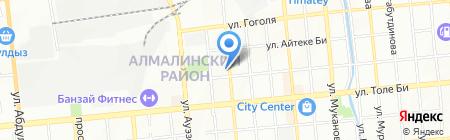 HITCOM на карте Алматы