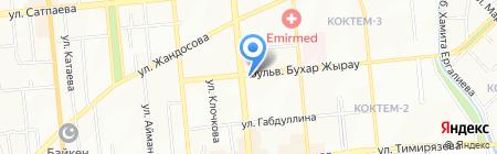 Espanhola на карте Алматы
