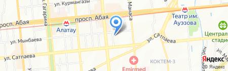 Виктория ателье на карте Алматы