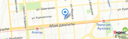 Mat на карте Алматы