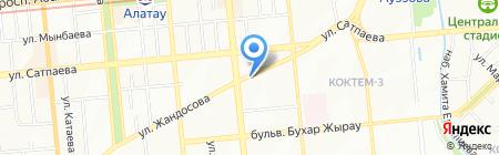 Amelia Production на карте Алматы