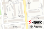 Схема проезда до компании HITCOM в Алматы