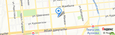 Детский сад №11 на карте Алматы