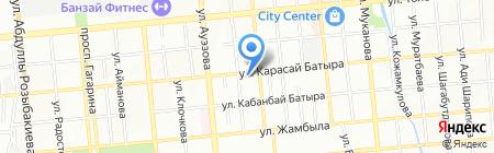 Всё работает на карте Алматы