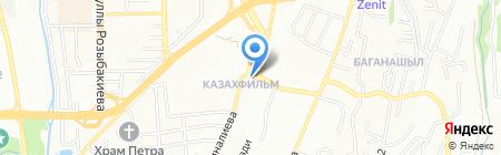 Врачебная амбулатория на карте Алматы