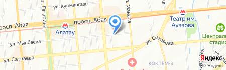 Студия-ателье Татьяны Мулюкиной на карте Алматы