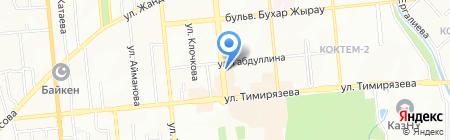 Intim на карте Алматы