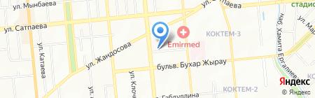КасСервисТрейд на карте Алматы