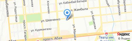 Тысяча и одна ночь на карте Алматы