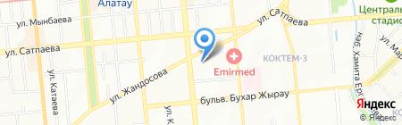 Казспецремонт на карте Алматы