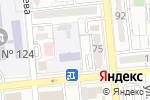 Схема проезда до компании Колосок в Алматы