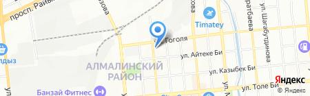 Автопилот-Subaru сервис на карте Алматы