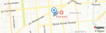 СМУ №11 на карте Алматы