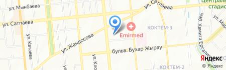 Потенциал ТехноГрупп на карте Алматы