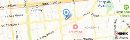 Aksnab на карте Алматы