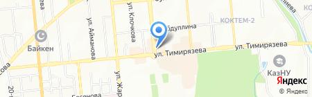 Рики-Тики на карте Алматы