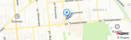 Свободный стиль на карте Алматы