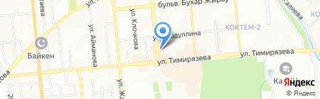 Lion на карте Алматы