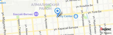 РЕНСНАБ на карте Алматы