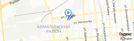 Экономика и право Казахстана на карте Алматы