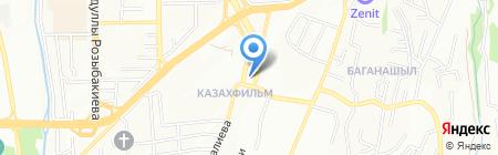 Айдар на карте Алматы