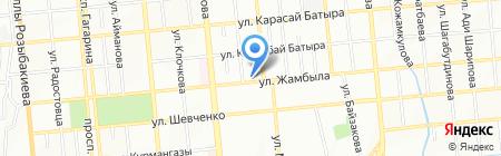 Happiness на карте Алматы