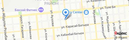 ALEF на карте Алматы