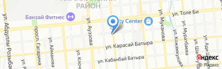 Jurist Almaty KZ на карте Алматы