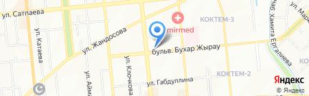 Каусар Несие на карте Алматы