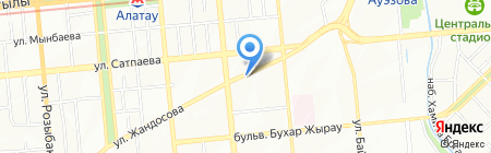 Glenfield на карте Алматы