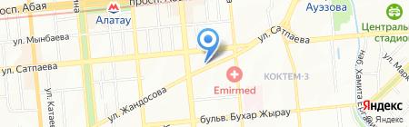 Медовый спасс на карте Алматы