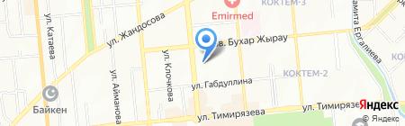 Алса-ком на карте Алматы