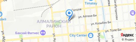 Дукен продуктовый магазин на карте Алматы