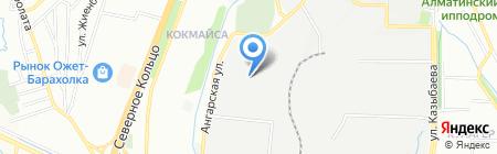 KazStroyService на карте Алматы
