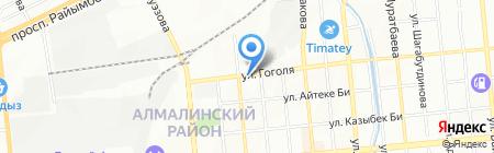 MITSUBISHI CENTER на карте Алматы