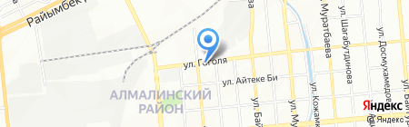 AFC GROUP на карте Алматы