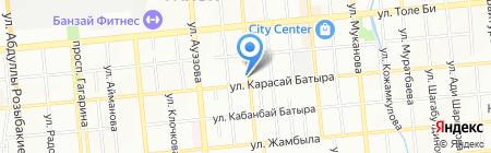 Фелина на карте Алматы