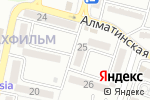 Схема проезда до компании Beauty в Алматы