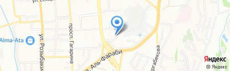 EXELECT KAZAKHSTAN на карте Алматы