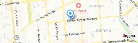 Адвокатская контора Акмамбетовой Ш.О. на карте Алматы