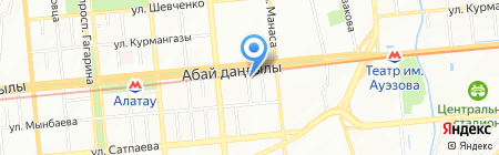 Дамди Ет на карте Алматы
