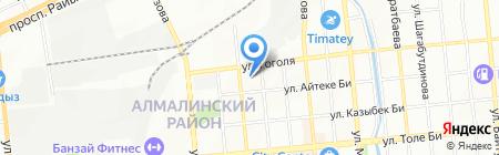 Автопилот-Mitsubishi сервис на карте Алматы