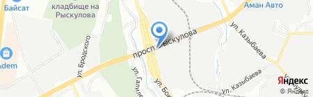 AAA-AUTO на карте Алматы