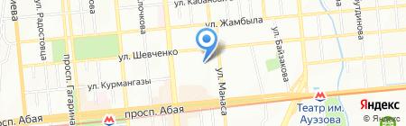 MARKET-Консалтинг на карте Алматы
