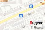Схема проезда до компании ZBest в Алматы