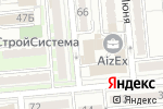Схема проезда до компании STUDIO111 в Алматы